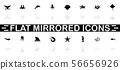 Marine Life - Flat Vector Icons 56656926