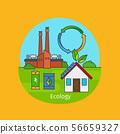 Ecology concept illustration 56659327