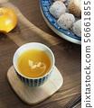 한국의 전통음료 단호박 식혜  56661855