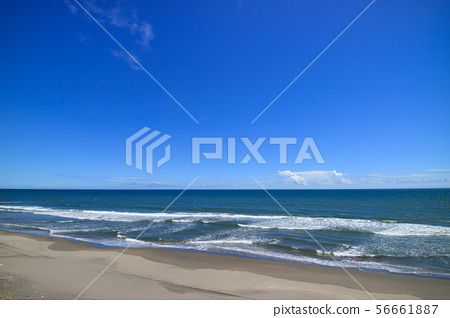 쿠쥬 쿠리 해안 이리 도시 중리 해수욕장 부근 56661887