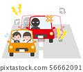 驾驶乘用车的男女 56662091