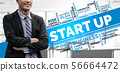 Start Up Business of Creative People Concept 56664472
