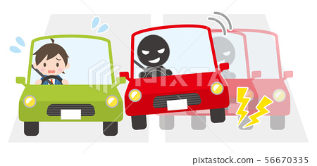 遇險的乘用車人 56670335