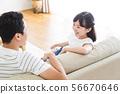 가족 부모 가족 여성 아이 56670646