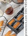 homemade financier cake 56674854