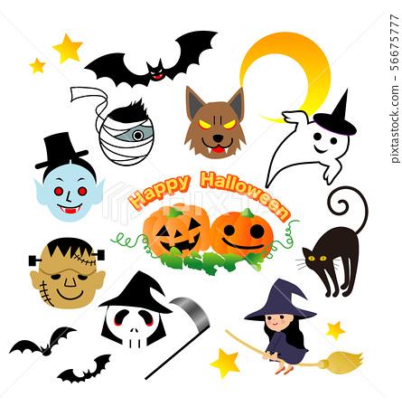 Halloween monster 56675777