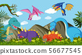 Different Kind of Dinosaur in Nature 56677545