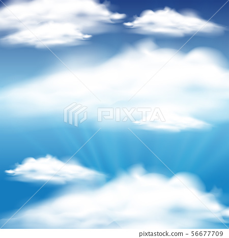 Sky background with blue sky and clouds 56677709