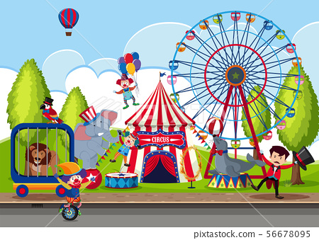 Touring Circus in the Park 56678095