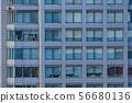오피스 빌딩 창문 텍스처 56680136
