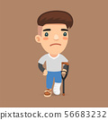 Leg Fracture Guy 56683232