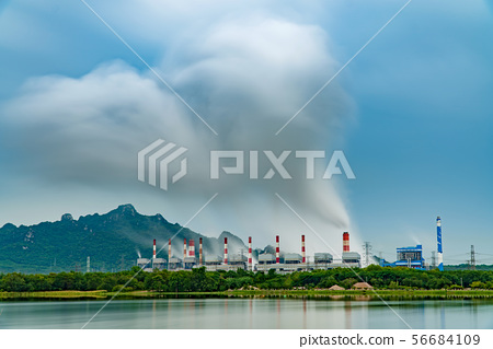 Mine Mae Moh coal-fired power plant in Thailand 56684109