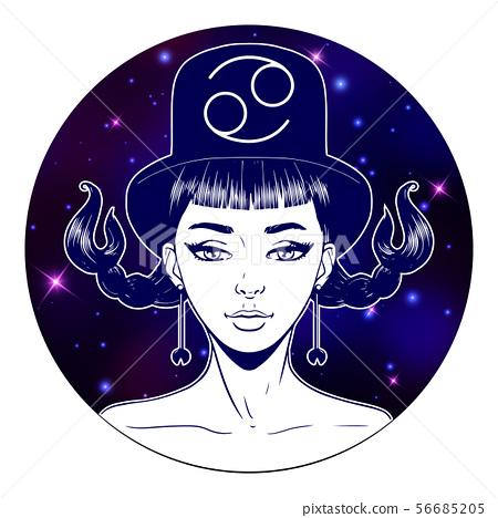 Cancer Zodiac Art