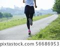 달리기 주자 여성 56686953