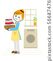 家庭主妇①洗衣02 56687476