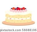 decorated cake 56688106