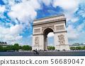 Arc de triomphe, Paris, France 56689047