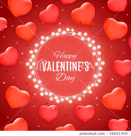 Valentine's Day Love and Feelings Sale Background 56691409