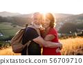 senior, people, couple 56709710