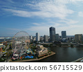 The landscape of Yokohama Minato Mirai 56715529