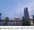 The landscape of Yokohama Minato Mirai 56715533