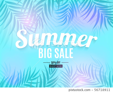 Abstract Summer Sale Background. Vector 56718911