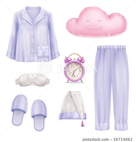 Sleep Accessories Realistic Set 56719862