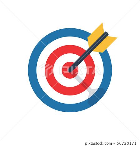 Target Icon Stock Illustration 56720171 Pixta Find images of target icon. https www pixtastock com illustration 56720171