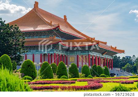 蔣介石紀念館,自由廣場,國家辦公室,國家劇院,國家音樂廳,台北,台灣 56723628