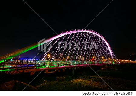 臺灣臺中情人橋 Taiwan Taichung Tai Hang Bridg 56725984