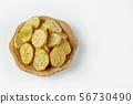 wood plate of crusty bread bruschetta 56730490