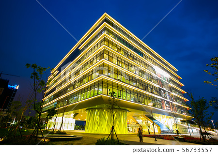 臺灣高雄圖書館總館Taiwan Kaohsiung Library 56733557