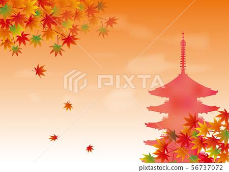 秋葉和五層寶塔 56737072