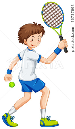Sporting activity people on white background 56737698