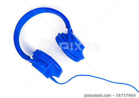 Headphones isolated on a white background 56737969