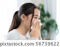 一個女人咬鼻子 56739622