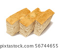 Sliced Loaf Bread Food isolated 56744655