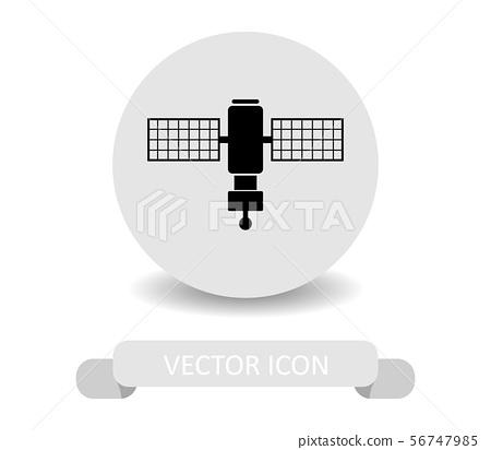 satellite icon 56747985