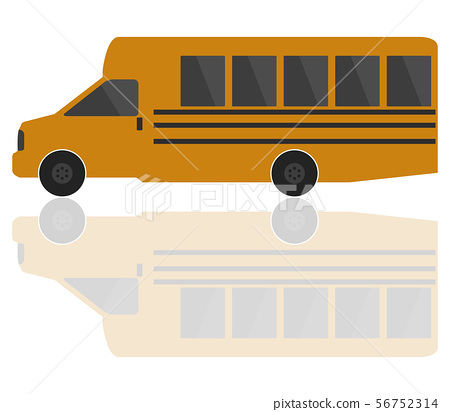 school bus icon 56752314