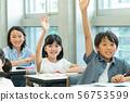 초등학생 학교 수업 교실 스쿨 라이프 이미지 56753599