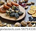 한국의 전통음식 한과, 모듬한과, 대추, 깨강정, 약과 56754336