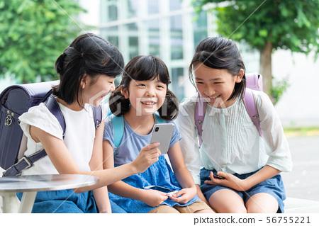 초등학생 학교 학교 생활 이미지 56755221