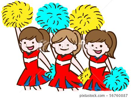 Cheering_Cheer女孩 56760887