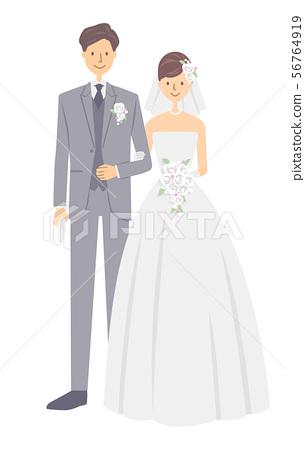 新娘和新郎 56764919