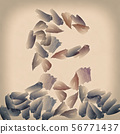 Abstract background in gentle pastel colors 56771437