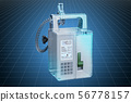 Visualization 3d cad model of infusion pump 56778157