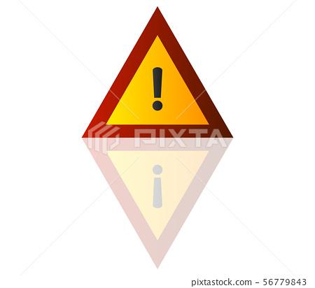 danger symbol icon stock illustration 56779843 pixta pixta