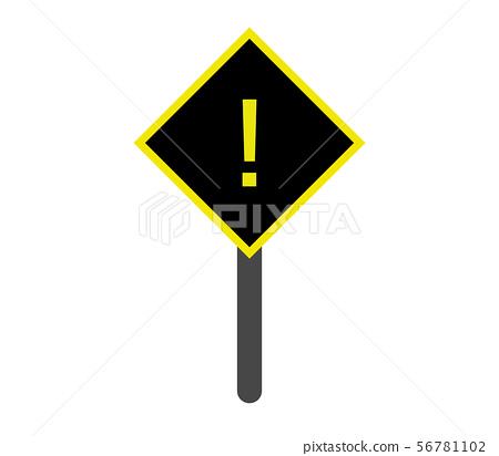 danger signal icon 56781102