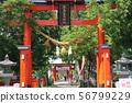 Higashi Torii Ikushima Ashida Shrine(上田市) 56799229