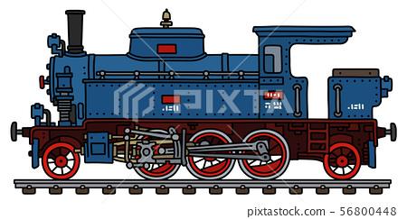 The old tank engine steam locomotive 56800448
